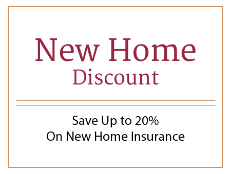New Home Discount - Save Up to 15% On New Home Insurance